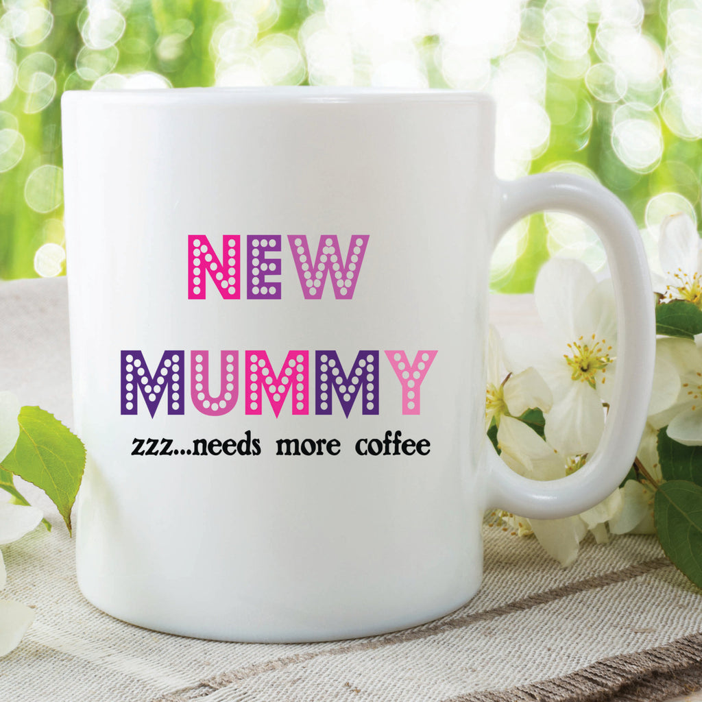 New Mummy Mug Pregnancy Gift Baby Shower Need More Sleep Kitchen Ware Cup Coffee Tea Gift For Expecting Mum Pregnant Baby WSDMUG338