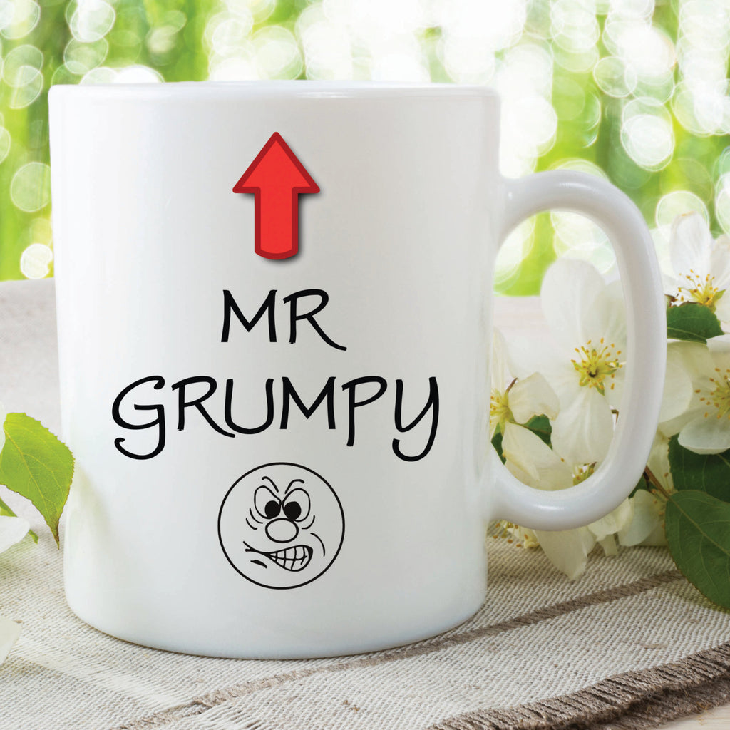 Mr Grumpy Mug Printed Cup Brother Fathers Day Gift Grandad Father In Law Uncle Birthday Christmas Secret Santa Work Mugs Novelty WSDMUG494