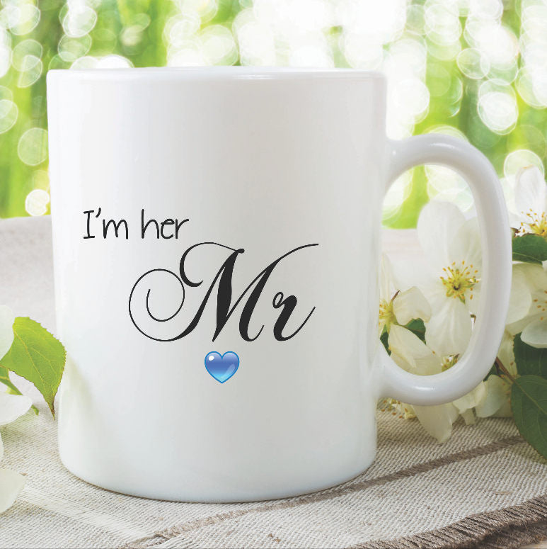 Mr Mug I'm Her Mr Cup Wedding Gift Present Funny Novelty Gifts Marriage Couples Mugs Anniversary Gifts His Hers Gifts For Him WSDMUG830