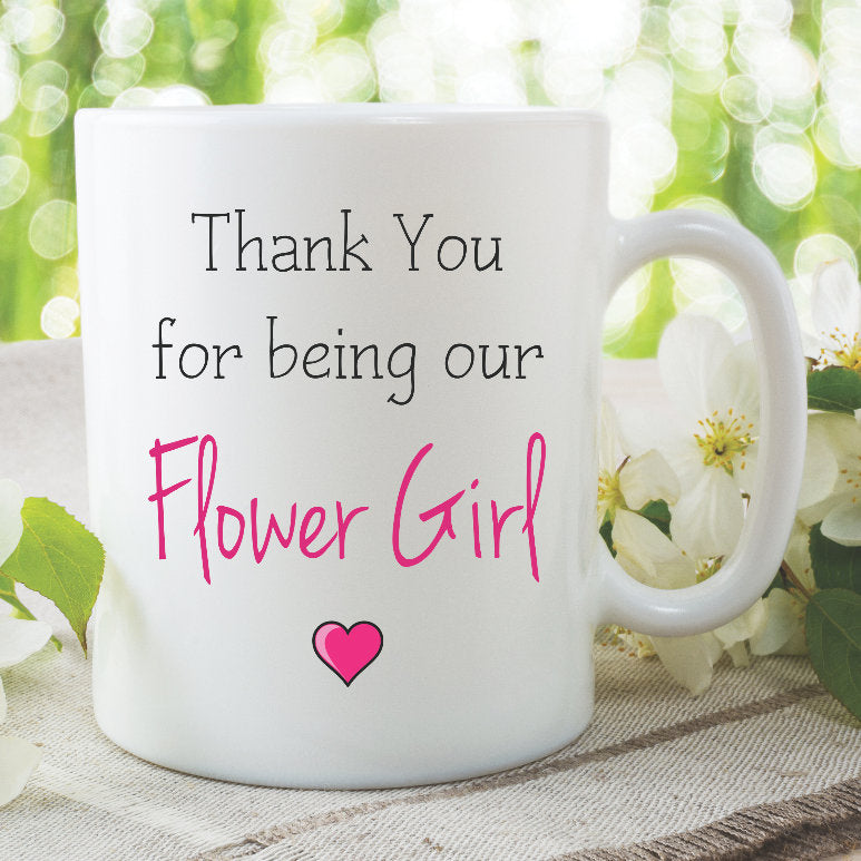 Flower Girl Mugs Thank You For Being Our Flower Girl Gift Best Friend Gifts Niece Wedding Gifts Ceramic Mug Gifts For Flower Girl WSDMUG853