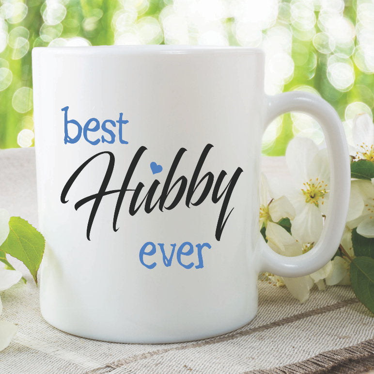 Hubby Mug Best Hubby Ever Funny Novelty Gifts For Him Present Wedding Gift Groom Wedding Present Ideas Gift For Husband Birthday WSDMUG859