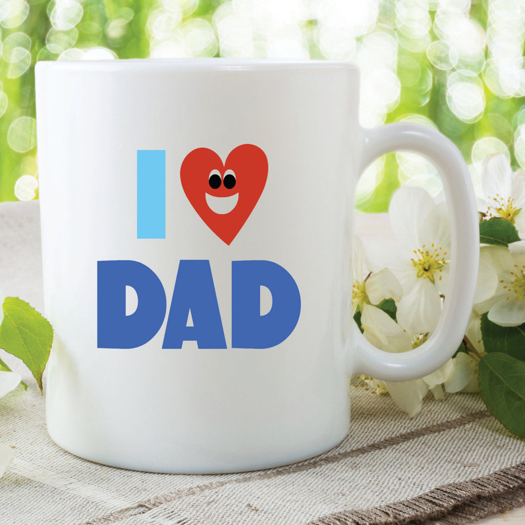 Christmas Gift For Dad.I Love Dad Mug Fathers Day Gift Present Birthday Christmas Gift Dad Mug Dad Cup Best Dad Gift For Dad Gifts For Him Wsdmug561