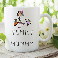 Yummy Mummy Mug Mothers Day Gift Birthday Gift New Mum To Be Gift Baby Shower Present Pregnancy Gift Birthday Gift Mum Mug Coffee WSDMUG601