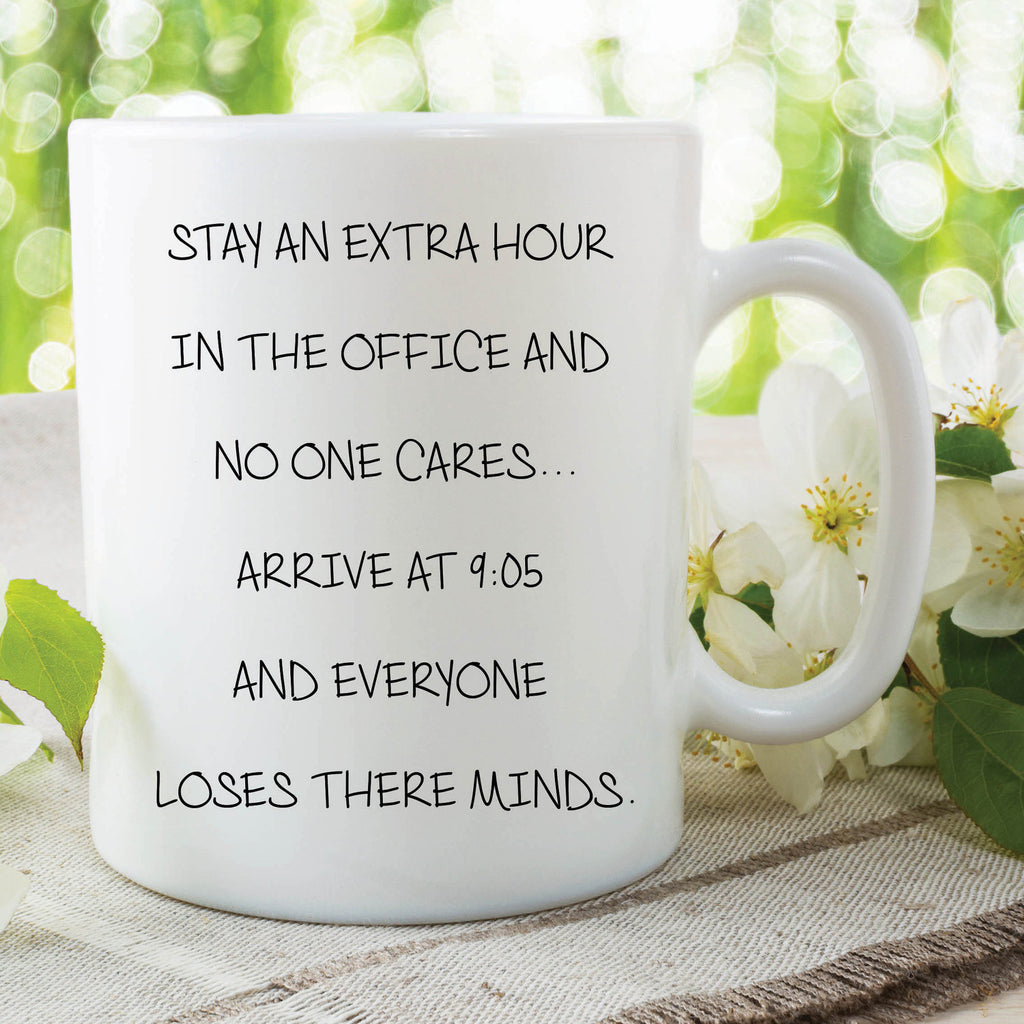 Funny Novelty Mug Work Office Gift For Colleague Qu Peachy Cards