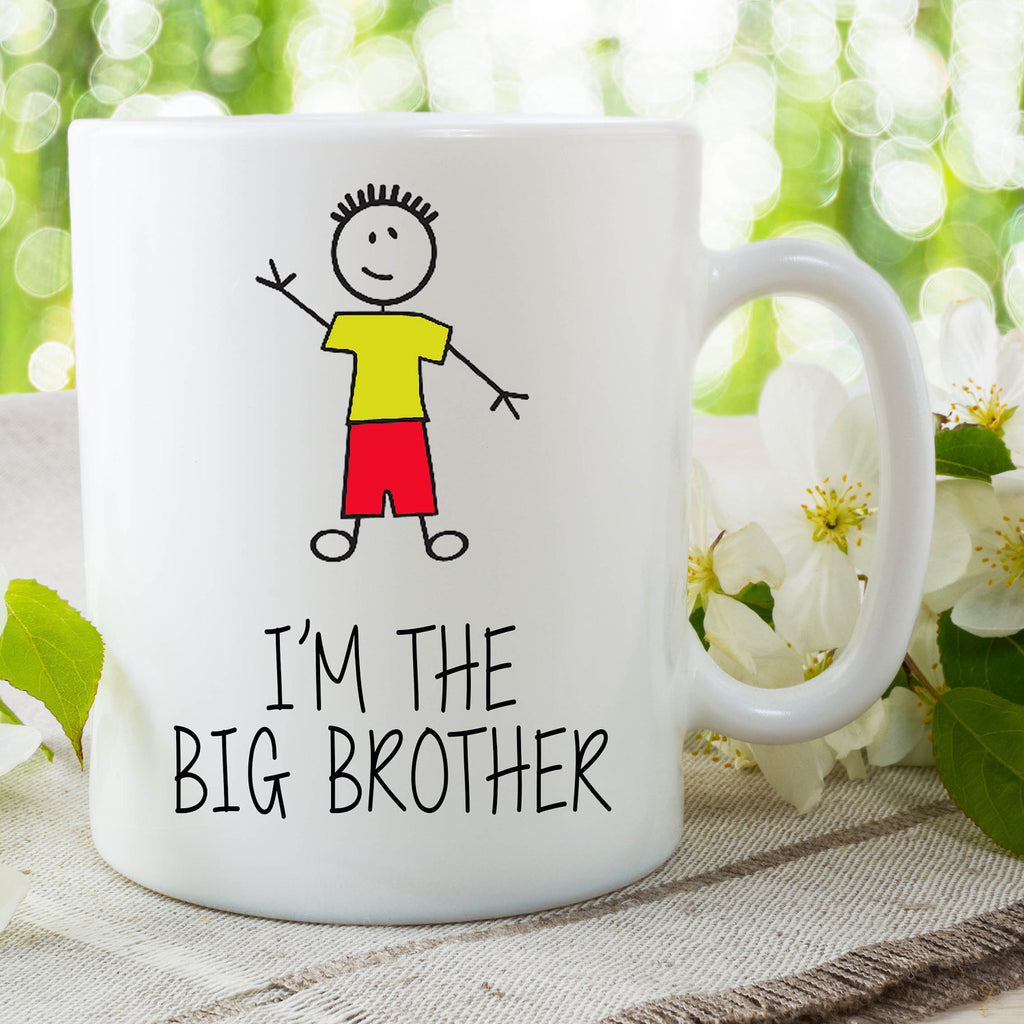 I'm The Big Brother Mug Gift For Son Surprise Baby Announcement Gift Birthday Christmas Gift New Baby On The Way Baby Shower WSDMUG643