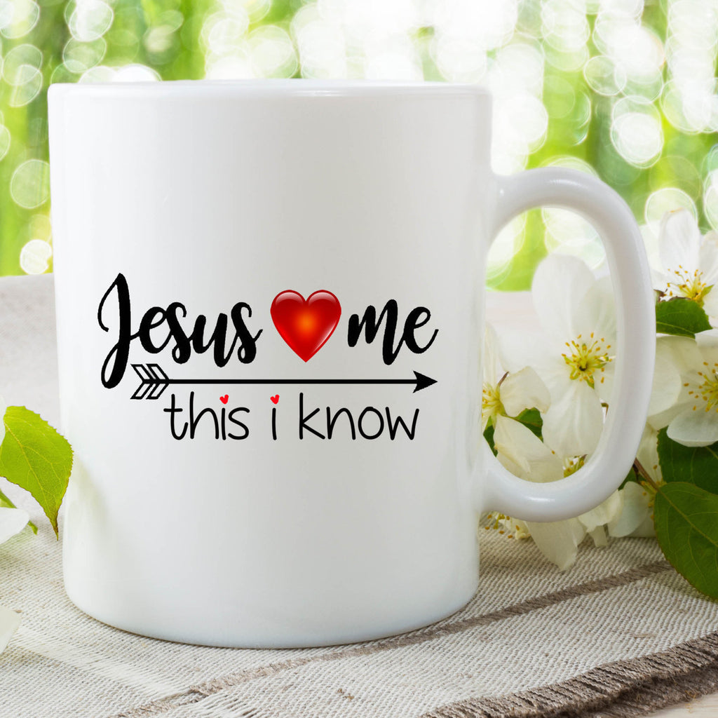 Funny Novelty Mug Jesus Loves Me Mug Gift For Her Gift For Him Friend Mug Jesus Mug Birthday Christmas Mothers Day Gift Funny Mug WSDMUG723