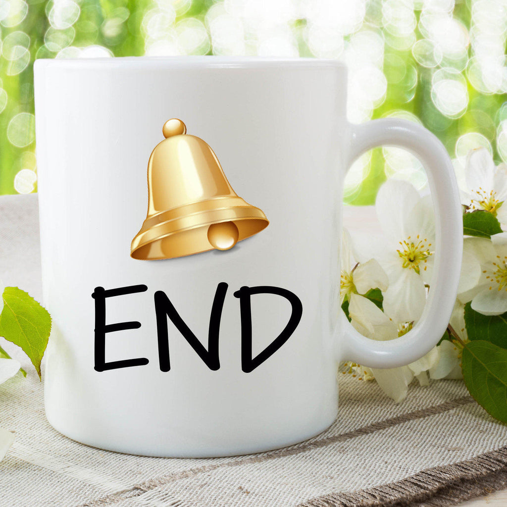 Novelty Mug Funny Mug Bell End Mug Coffee Mug Tea Cup Funny Humour Gift For Friend Joke Gifts Work Mugs Boyfriend Gifts Joke Cup WSDMUG767