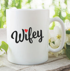 Wifey Mug Wife Mug Funny Novelty Gifts For Her Present Wedding Gift Bride Gift Wedding Present Ideas Gift For Wife Birthday WSDMUG860