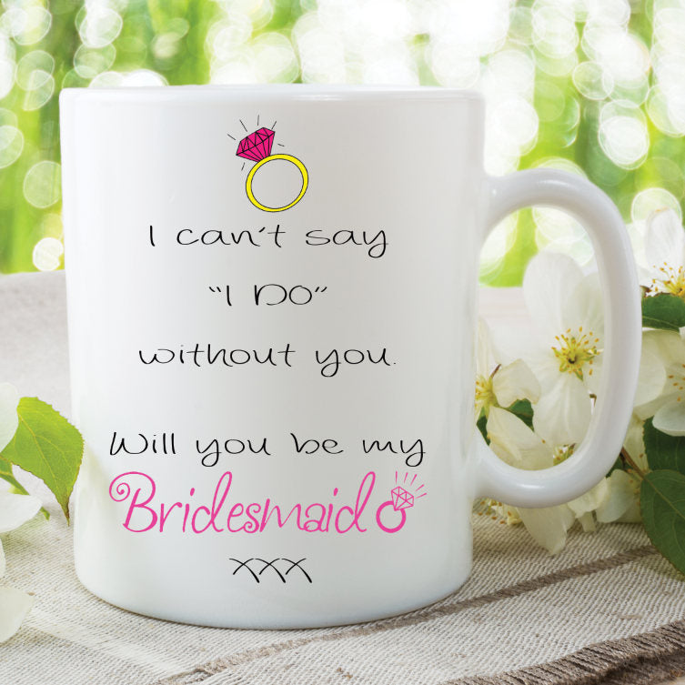Will You Be My Bridesmaid Ceramic Mugs Bridesmaid Gifts Surprise Gift For Friend Best Friend Mugs Cups Gifts Wedding Marriage WSDMUG943