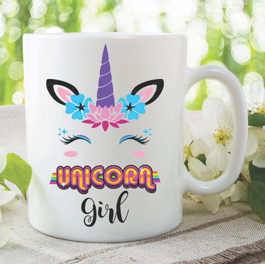 Unicorn Mug Unicorn Girl Best Friend Daughter Mothers Day Birthday Gift Present Christmas Funny Novelty Printed Tea Cup Office WSDMUG992