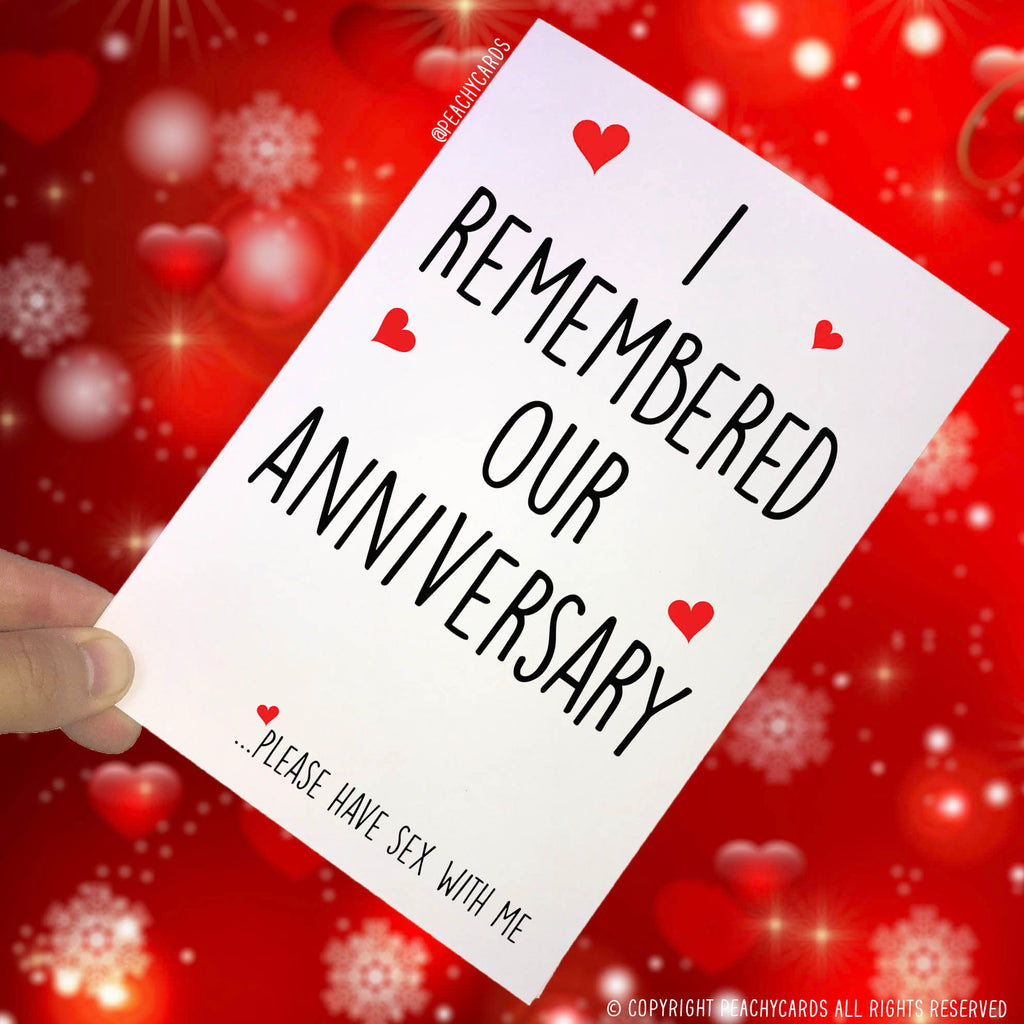 Anniversary Cards, Celebration Cards, Funny Cards, Rude Cards, Adult Humour Cards Please Have Sex With Me Husband Card Boyfriend Cards PC113