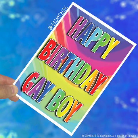 Birthday Funny Greeting Cards Gay Card Gay Gift Rude Funny Best Friend Cards Birthday Present Happy Birthday Gay Boy Novelty Joke Fun PC371