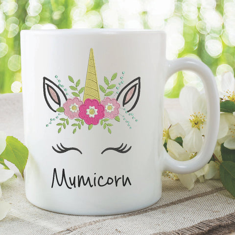 Unicorn Mug Mumicorn Mum Mug Gift Mothers Day Birthday Gift Present Christmas Funny Novelty Work Tea Cup Gift For Mum Ceramic Mugs WSDMUG979