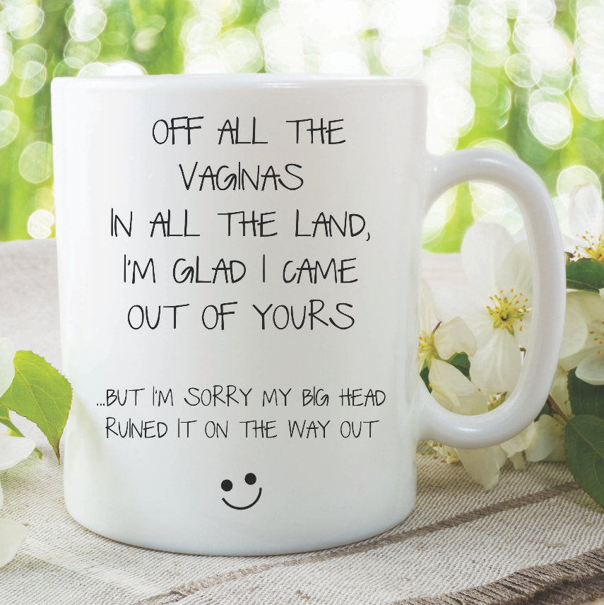 Funny Mothers Day Gift Mug For Mum Birthday Present Funn Peachy Cards