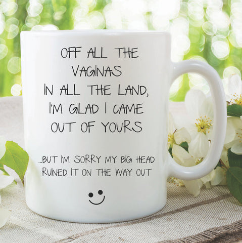 Funny Mother's Day Gift Mug Gift For Mum Birthday Present Mum Mug Funny Mum Gifts Birthday Novelty Present Adult Humour WSDMUG1026
