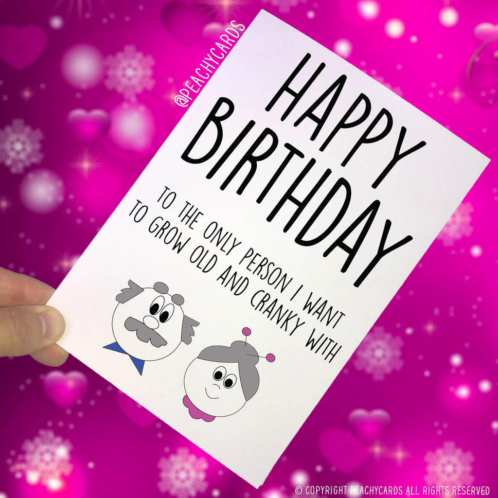 Birthday Cards For Him.Funny Birthday Card For Husband Funny Birthday Card For Boyfriend Birthday Card For Him Birthday Card For Wife Birthday Card Fiance Pc412