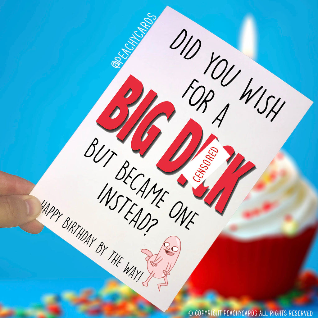 Lovely Funny Birthday Cards, Swearing Cards, C*nt Greeting Cards, Novelty Cards,