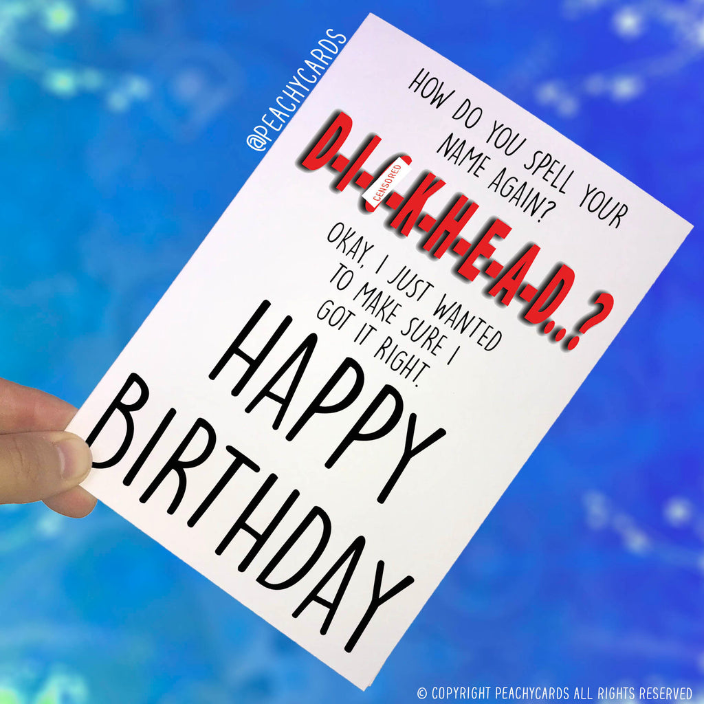 Peachy Cards Birthday And Any Occasion