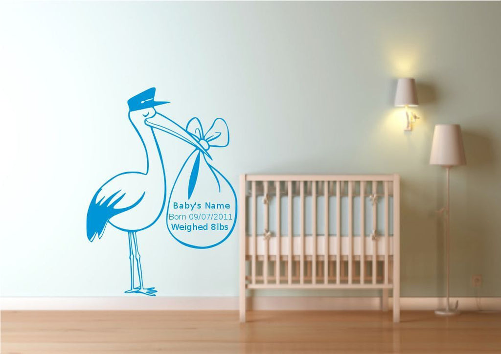 Personalised Wall Sticker WSD536