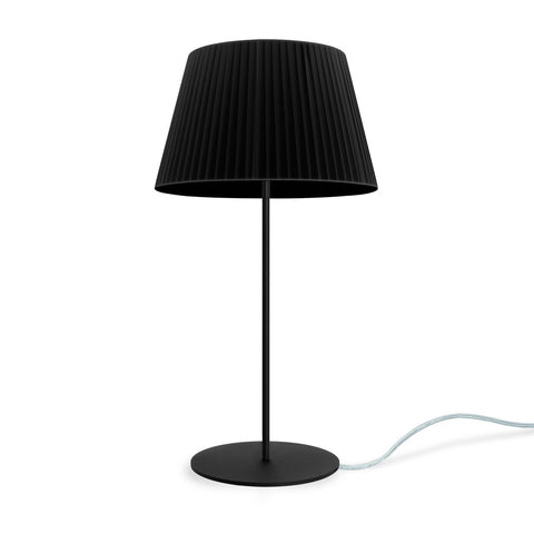 KAMI Elementary M 1/T table lamp black, transparent, black