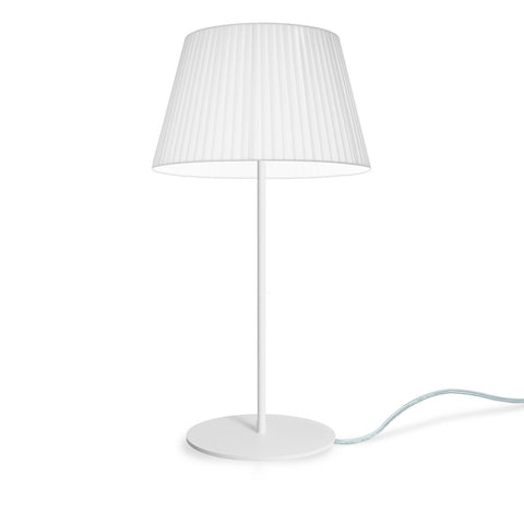 KAMI Elementary M 1/T table lamp white, transparent, white