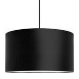 modern lamp shade of mika elementary in black