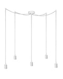 modern ceiling lamp fitting bi elementary 5s