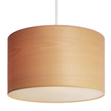 modern lampshade of Tsuri elementary in white beech