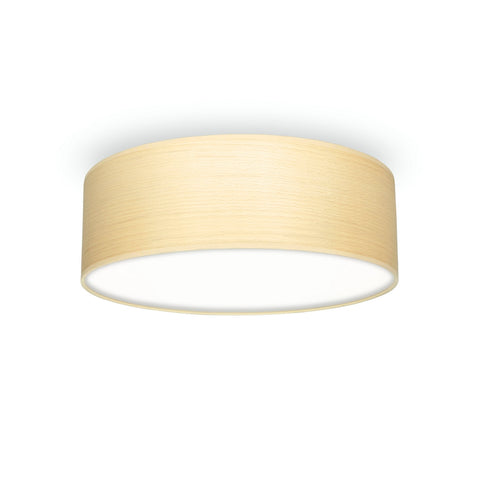 TSURI Elementary M 1/C single ceiling lamp, white beech