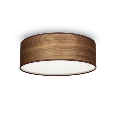 TSURI Elementary M 1/C single ceiling lamp, walnut
