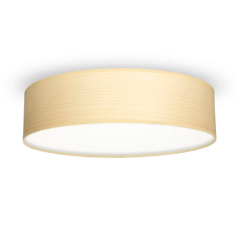 TSURI Elementary L 1/C single ceiling lamp, white beech