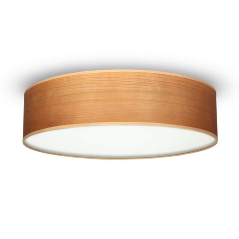 TSURI Elementary L 1/C single ceiling lamp, cherry