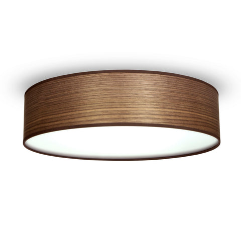 TSURI Elementary L 1/C single ceiling lamp, walnut