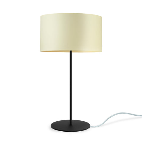 MIKA Elementary M 1/T table lamp ecru, transparent, black
