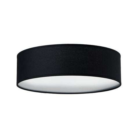 MIKA Elementary L 1/C ceiling lamp, black