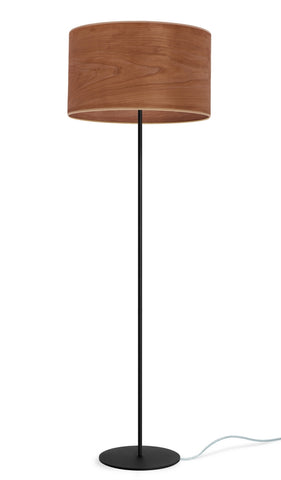 TSURI Elementary L 1/F  floor lamp, cherry, transparent, black