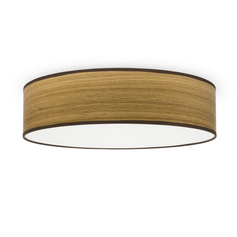 TSURI Elementary L 1/C single ceiling lamp, oak
