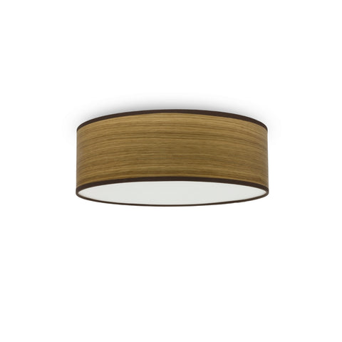 TSURI Elementary M 1/C single ceiling lamp, oak