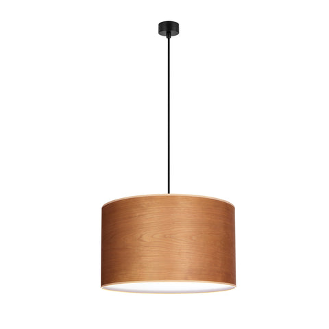 TSURI Elementary 1/S single pendant lamp, cherry, black, black