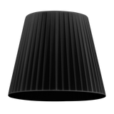 modern lamp shade of kami elementary in black