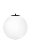 modern glass shade of Tsuki L elementary in opal matte