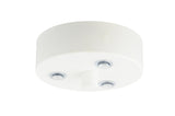 elegant steel white powder coated ceiling plate for sotto luce elementary lighting