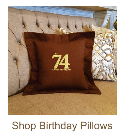 Birthday Pillow Gifts