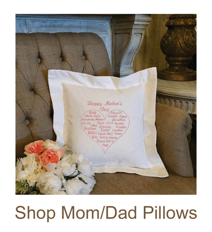 Mom/Dad Pillows