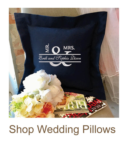 Wedding Pillows Collection | Best-Selling Wedding Gifts