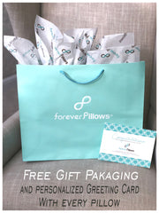 Forever Pillows Free Gift Packaging