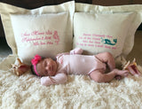 Forever Pillows Personalized Gifts Baby Girl