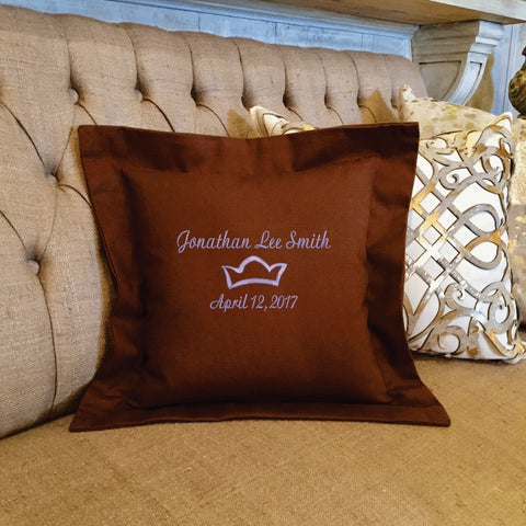 Personalized embroidered pillow gifts forever pillows 4 negle Choice Image
