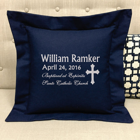 Confirmation/Baptism Pillow