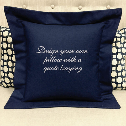 Design Your Own Pillow Embroidered Gift Forever Pillows